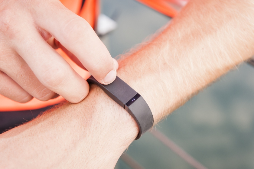 Using a fitness tracker outdoors